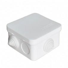 Коробка разветвительная ОП 7 выходов 3 гермоввода IP54 75х75х45 полипропилен белый