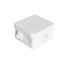 Коробка разветвительная ОП 7 выходов 3 гермоввода IP54 75х75х45 полипропилен серый  220322