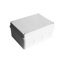 Коробка разветвительная ОП 10 выходов IP54 150х110х70 полипропилен крышка на винтах белый