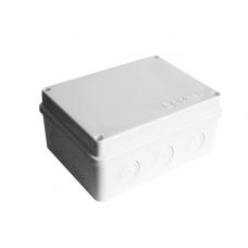Коробка разветвительная ОП 10 выходов IP54 150х110х70 полипропилен крышка на винтах белый  215311