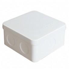 Коробка разветвительная ОП 7 выходов IP54 84х84х45 полипропилен белый