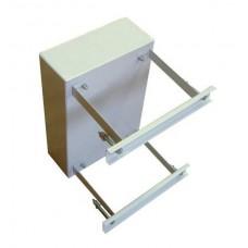Хомут крепления ЩУНС к квадратному столбу комплект 300х220 (комплект) Узола