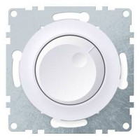 Светорегулятор Флоренция поворотный 600Вт для ЛОН и ГЛН механизм белый