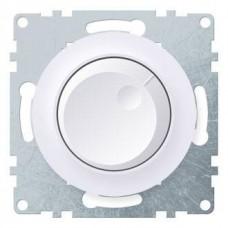 Светорегулятор Флоренция поворотный 600Вт для ЛОН и ГЛН механизм белый  1E42001300