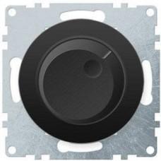 Светорегулятор Флоренция поворотный 600Вт для ЛОН и ГЛН механизм черный