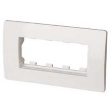 Каркас с рамкой Вива 2М белый  10242