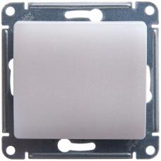 Выключатель Глосса 1СП б/п 10А IP20 механизм перламутр  GSL000611