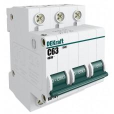 Автомат 3П 16А хар-ка C 4,5кА ВА-101 DEKraft Schneider Electric  11078DEK