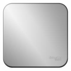 Выключатель Бланка 1ОП б/п 10А IP20 в сборе алюминий  BLNVA101013