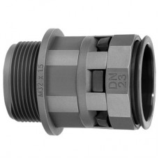 Муфта труба-коробка DN 17мм М25х1,5 полиамид черная DKC