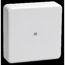 Коробка КМ41216-01 распаячная для о/п 75х75х28 белая (6 клемм 6мм2) IEK