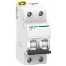Автомат 2П 25A хар-ка C 6кА iK60 Acti9 Schneider Electric  A9K24225