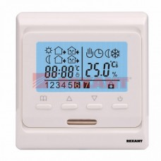 Терморегулятор с дисплеем и автоматическим программированием 3680Вт 51-0532 REXANT  51-0532