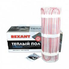 Теплый пол (нагревательный мат) Classic RNX-10,0-1500 10м2 (0,5х20м) 1500Вт двухжильный с экраном REXANT