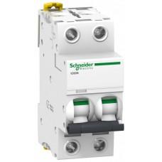 Автомат 2П 25A хар-ка C 6кА iC60N Acti9 Schneider Electric  A9F79225