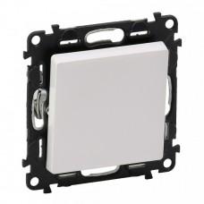 Выключатель Валена Лайф 1СП б/п 10А IP20 механизм белый  752401