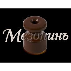 Изолятор керамический D20х24 коричневый (40шт/упак)