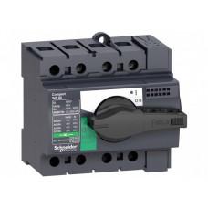 Выключатель-разъединитель Interpact, INS63 3П,(28902)  28902
