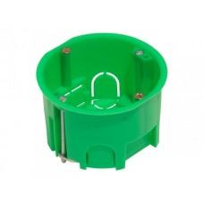 Коробка установочная 68х45мм IP30 6 вводов, металлические лапки (288шт/кор)