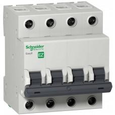 Автомат 4П 25А хар-ка C 4,5кА 400В -S- Easy9 Schneider Electric  EZ9F34425