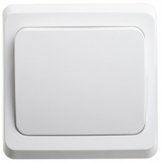 Выключатель Этюд 1СП б/п 10А IP20 в сборе белый  BC10-001B