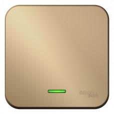 Выключатель Бланка 1ОП с/п 10А IP20 в сборе титан  BLNVA101114
