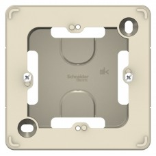 Коробка монтажная Бланка 1ОП подъемная молочный  BLNPK000012