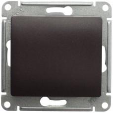 Выключатель Глосса 1СП б/п 10А IP20 механизм сх 1 шоколад  GSL000811