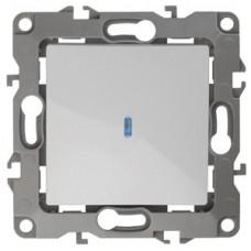 Выключатель Эра12 1СП с/п 10А IP20 механизм 12-1102-01 белый  Б0014633
