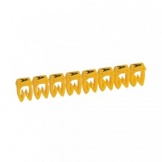 """Маркер кабельный 0,5-1,5мм символ """"A"""" CAB 3 (300шт/упак) Legrand"""