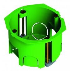 Коробка установочная 68х40мм IP30 6 вводов, пластиковые лапки (336 шт/кор)