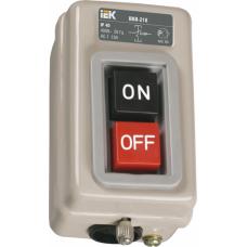 Выключатель ВКИ-211 3П 6А 230/400В IP40 ИЭК  KVK10-06-3