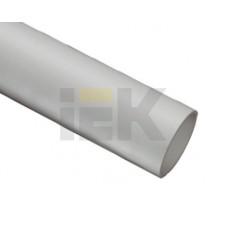 Труба ПВХ жесткая гладкая d25 серая 3м (60м) IEK