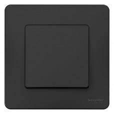 Выключатель Бланка 1СП б/п 10А IP20 в сборе антрацит  BLNVS010106