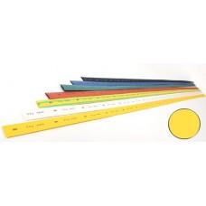 Трубка термоусадочная ТТУ 12/6 желтая 1м ИЭК  UDRS-D12-1-K05