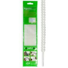 Хомут полиуретан 10х300 многоразовый белый RAPSTRAP (24шт/упак) Schneider Electric