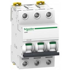 Автомат 3П 6А хар-ка C 6кА iC60N Acti9 Schneider Electric  A9F79306