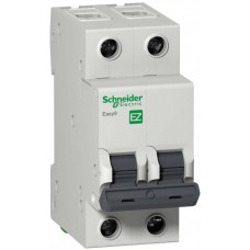 Автомат 2П 25A хар-ка C 4,5кА 230В -S- Easy9 Schneider Electric  EZ9F34225