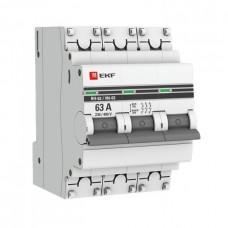 Выключатель нагрузки ВН-63 3П 40А PROxima EKF  SL63-3-40-pro