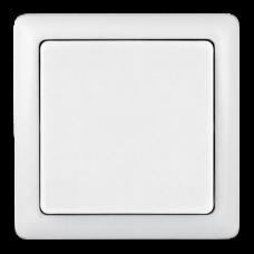 Выключатель Хит 1ОП б/п 6А IP20 в сборе белый  VA16-131-B