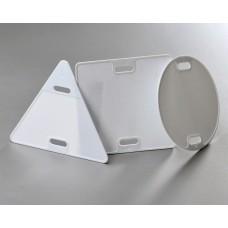 Бирка маркировочная У-136(400) треугольная для контрольного кабеля (100шт/упак) FORTISFLEX FORTISFLEX 43813/66783