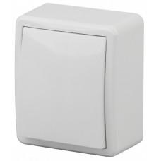 Выключатель Эксперт 1ОП б/п 10А IP20 в сборе 11-1201-01 белый  Б0020653