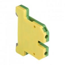 Колодка клеммная ЕК-4/32 JXB земля желто-зеленая PROxima EKF  plc-ek-4/32