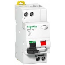 Дифф автомат 1П+N 10А хар-ка C 6кА 30мА AC DPN N VIGI Acti9 Schneider Electric