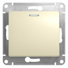 Выключатель Глосса 1СП с/п 10А IP20 механизм бежевый  GSL000213