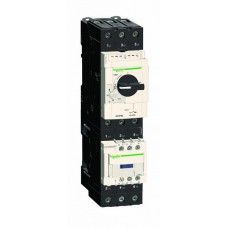 Автомат защиты двигателя 3П 40А 50кА 690В комбин расцепит GV3 TeSys Schneider Electric  GV3P40