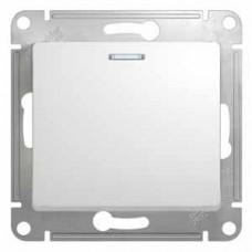 Выключатель Глосса 1СП с/п 10А IP20 механизм белый  GSL000113