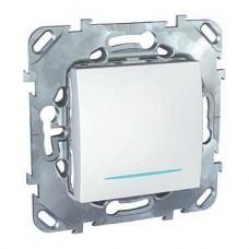 Выключатель Уника 1СП с/п 10А IP20 механизм белый  MGU5.201.18NZD