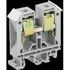Зажим наборный ЗНИ-35мм2 JXB125А серый IEK  YZN10-035-K03