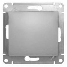 Выключатель Глосса 1СП б/п 10А IP20 механизм алюминий  GSL000311